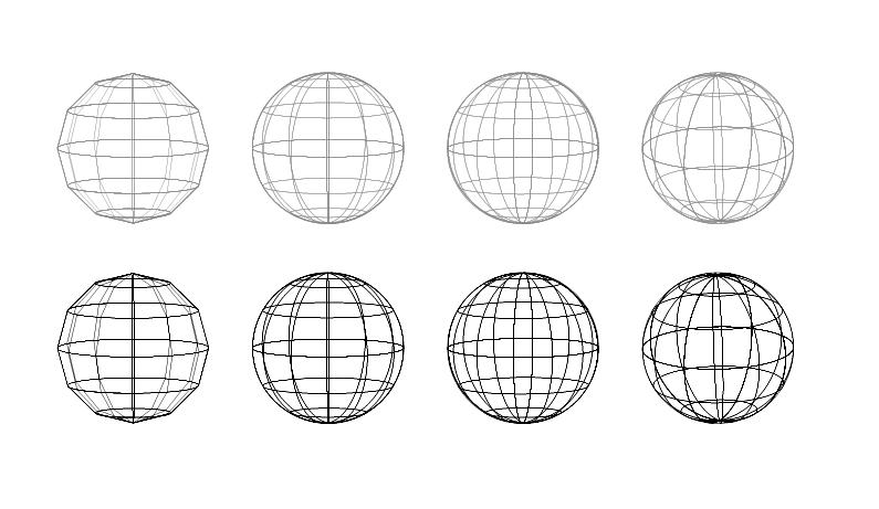 地球 球体 12角型