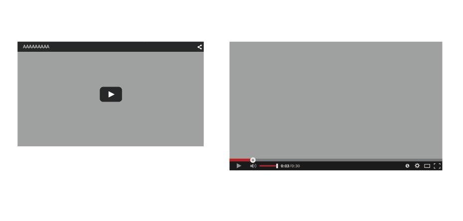 youtube枠 イラレ素材 youtube再生ボタン