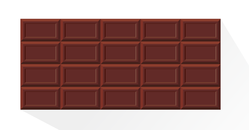 板チョコ枠
