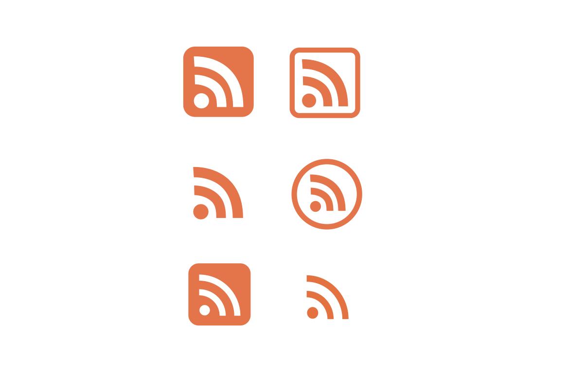 RSS アイコン 素材