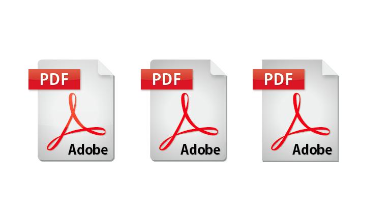 pdfアイコン 3種類