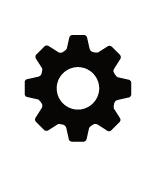 歯車 アイコン 単体