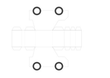 車の展開図