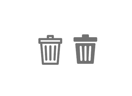 ゴミ箱アイコン