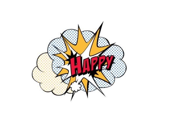 happy アメコミ