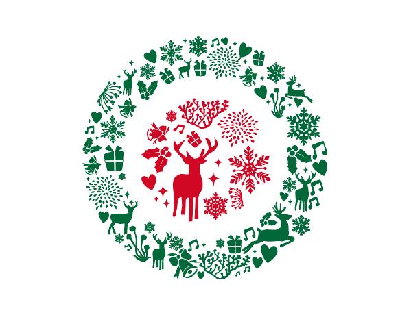 クリスマスリース フリー素材 ブログ